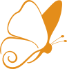 Butterfly icon from Benedict Centers logo